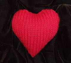 Knitted Heart Pattern Cool Free Plush Heart Pattern Happy Valentine's Day Knitknoodler's Blog
