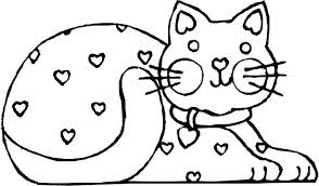 Printable Cat Coloring Pages Cat Coloring Pages Printable Free