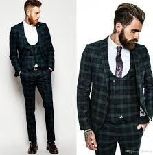 Latest Blazer Designs 2018 Latest Coat Pant Design Burgundy Wedding Suits Handsome Slim Fit Mens Suits Groom Tuxedos Custom Made Formal Suits Jacket Pants Vest Grey Prom Tuxedos
