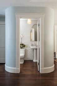 rounded hall bath