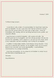 letter for recommendation personal letter of recommendation reference letter1 writing a