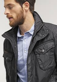 camel active light jacket black men lightweight jackets