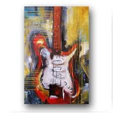 guitar painting abstract painting large original painting on canvas contemporary wall art palette knive textured red gold 36 heather day on guitar canvas wall art red with 259 best art guitar images on pinterest music musical instruments