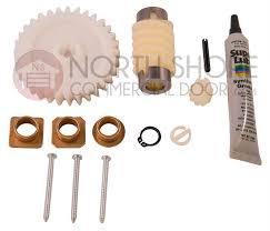 linear hae00006 hae00047 garage door opener helical gear and grease