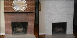 red brick fireplace makeover home decorating ideas for inspiring painting brick fireplace ideas