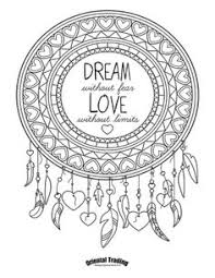 Small Picture Dream Catcher Adult coloring page by triginkart on Etsy I Love