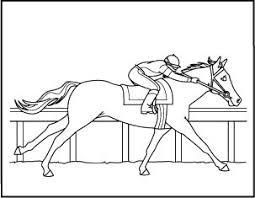 Barrel Racing Horse Coloring Pages Sketch Coloring Page Barrel