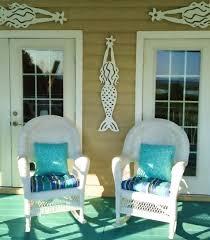 outdoor sea life mermaid wall decor