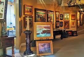 6 art galleries