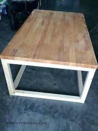 butcher block table tops ikea table build a fast coffee table or end table butcher block table tops home interior decor s