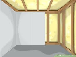 surprising insulated interior walls image titled insulate a garage step 4 structural insulated panels interior walls