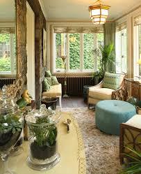 sunroom interiors. Karen Gallaher Interiors Sun Room Garden Plants Conservatory Eclectic-porch Sunroom