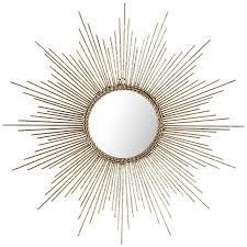 marvelous design ideas sunburst wall decor interior petite gold burst round mirror pier 1 imports outdoor