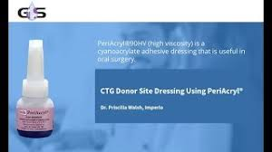 CTG Donor Site Dressing Using PeriAcryl® - Dr. Priscilla Walsh, Imperio -  YouTube