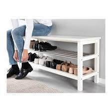 TJUSIG Banc avec rangement chaussures IKEA 65 Largeur: 108 cm Profondeur:  34 cm