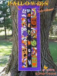 12 Halloween Wall Hanging Quilt Patterns | Hidden Treasure Crafts ... & H-A-LL-O-W-EE-N Spells Halloween Wall Hanging Adamdwight.com