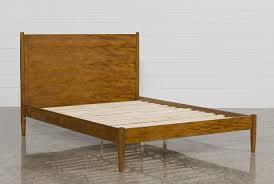 alton cherry california king platform bed  living spaces