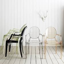 Kartell Louis Ghost Armchairs