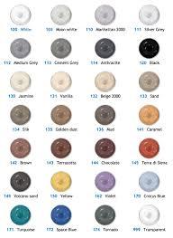 Mapesil Sealant Colour Chart Mapesil Ac