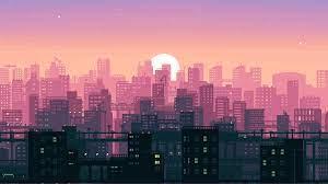 8 Bit Pixel Art City, HD Artist, 4k ...