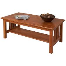 Home; Mission Coffee Table. Finish: Golden Oak Photo Gallery