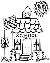 Wonderful Decoration School Coloring Pages Sunday School Coloring