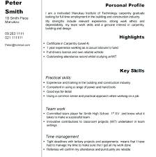 Sample Plumber Resume Objective Carpenter Journeyman Examples ...