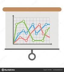 Trending Graph Trending Graph Vector Icon Stock Vector Creativestall