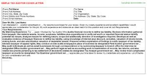Qa Auditor Cover Letter The Art Gallery Quality Assurance Auditor