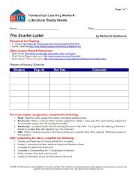 The Scarlet Letter Worksheets Worksheets for all | Download and ...