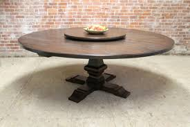 80 round farm table with venetian pedestal
