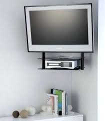 Corner Tv Mounts With Shelves Best Corner Tv Mount With Floating Shelves Morespoons 32ad2326a32d32