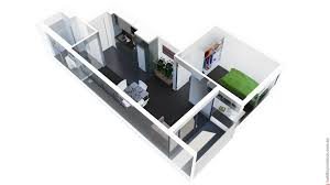 Architecture  Upload A Floor Plan With D Room Layout D Home - Small apartment floor plans 3d