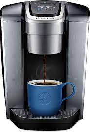 If you like your iced coffee black, the process is straightforward. Amazon Com Keurig K Elite Coffee Maker Single Serve K Cup Pod Coffee Brewer With Iced Coffee Capability Brushed Silver Kitchen Dining