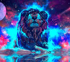 Lion Galaxy Wallpapers - Top Free Lion ...