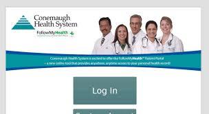 Access Conemaugh Followmyhealth Com