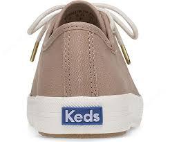 keds woman trainers kickstart leather natural 3