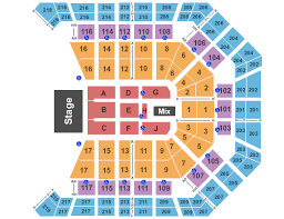 Mgm Grand Vegas Seating Chart Mgm Garden Arena Seating Growswedes Com