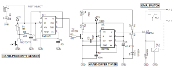 automatic hand dryer circuit automatic hand dryer circuit