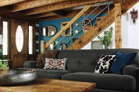 Log Cabin Living Room Best Hood Creek Log Cabin Bold Eclectic Log Cabin Living Room The