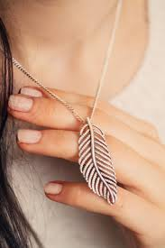 modern pandora feather necklace hotel le louvre cherbourg manche norman and chain set rose gold uk