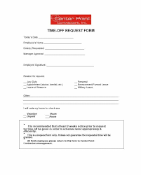 vacation forms for employees 40 effective time off request forms templates template lab