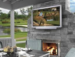 as football season gets underway it s inevitable that i ll get phone calls about mounting tvs on a porch deck or some other outside area as people