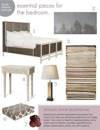Room Design Essential Pieces For The Bedroom Designing The