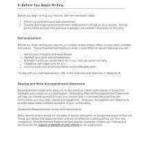 Achievement Resumes Resume Accomplishments Airexpresscarrier Com