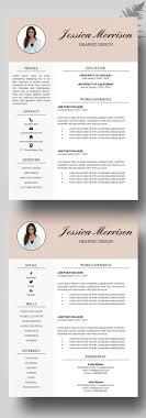 Resume Modern Resume Template Free Fascinating Modern Resume