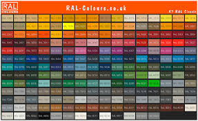 Ral K7 Colour Chart Ral Colour Charts Shades And Swatches
