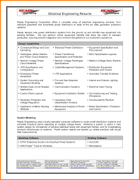 Test Engineer Resume Objective Electrical Engineer Resume Example Free Oil And Gas Objective Format
