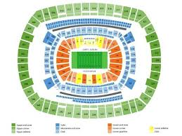 New York Giants 3d Seating Chart Metlife Stadium View Online Charts Collection