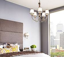 lighting a bedroom. Chandelier-Style Bedroom Lighting A